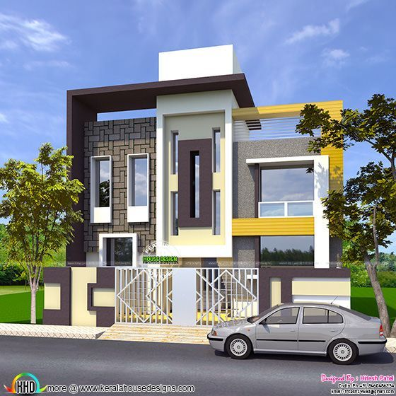 185 Sq M Modern Contemporary Home Kerala Home Design