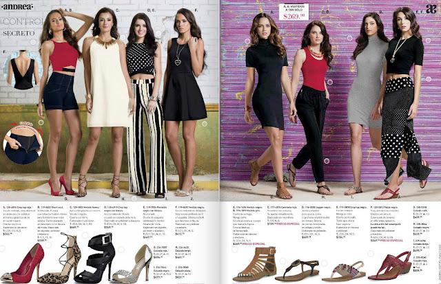 Andrea catalogo de ropa  temporada  verano 2016 | moda
