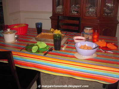 Margaret's Morsels | Cinco de Mayo