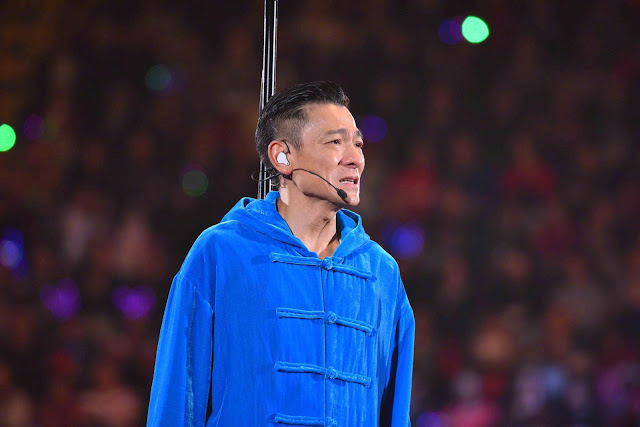 Andy Lau stops mid-concert My Love Andy Lau World Tour