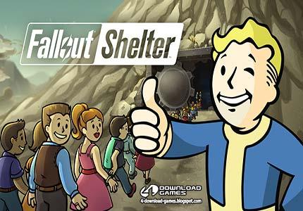 لعبة ملجأ الطوارئ Fallout Shelter