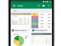 Cara Penggunaan Google Sheets di Perangkat Android