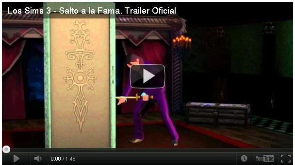 Trailer del Juego Los Sims 3 Salto a la Fama [720p HD] 2012