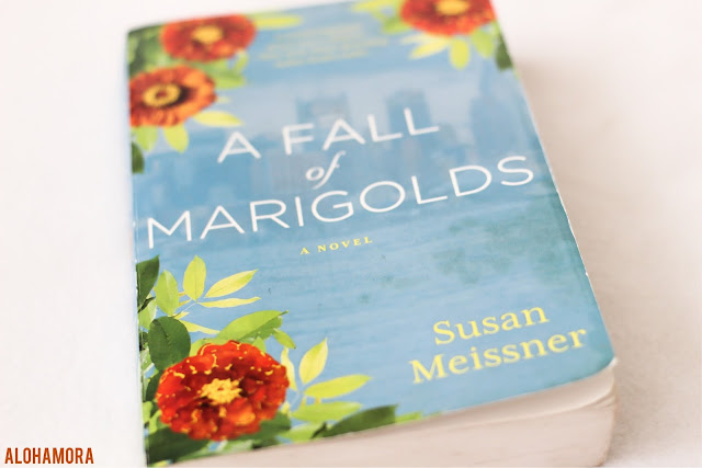 A Fall of Marigolds by Susan Meissner gets 4.5 out of 5 stars in my book review of this adult literature historical fiction set in 1911 on Ellis Island, and 2011 in NYC.  Great book.  Book club. touch of romance. Healing. Grieving a loss. imigrants. death. love, scarf Alohamora open a book alohamoraopenabook https://alohamoraopenabook.blogspot.com/