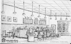 coffee sketch sketching starbucks baguette
