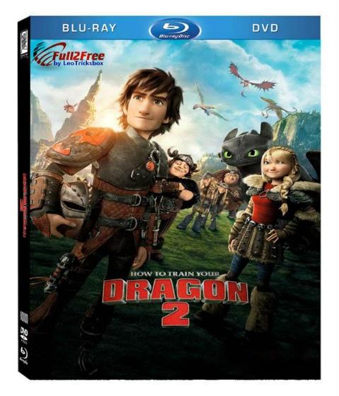 Movie : How to Train Your Dragon 2 (2014) 720p Blu-Ray Dual Audio