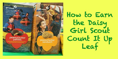 How to Earn the Daisy Girl Scout Count It Up Leaf-Complete Meeting Plans