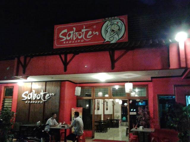Saboten Shokudo Malang