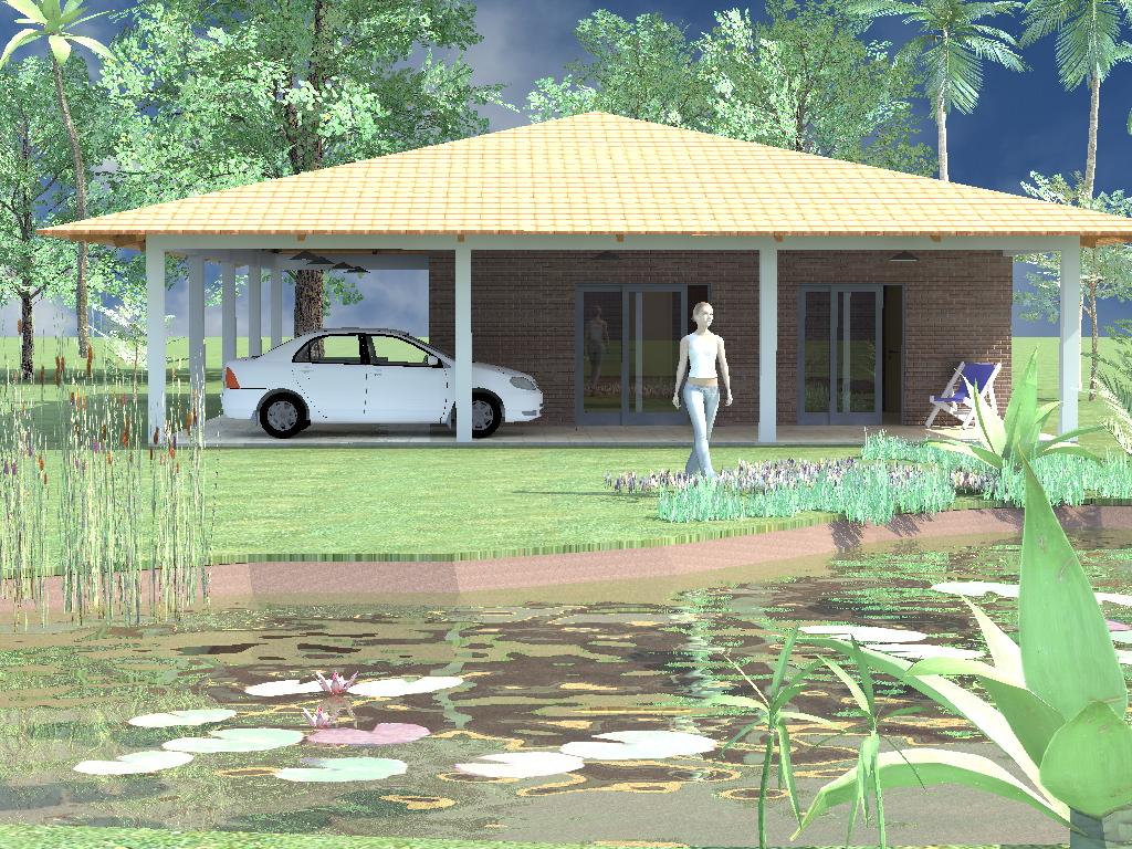 Projetos para casas pequenas top projetos de casas com for Decorando casa
