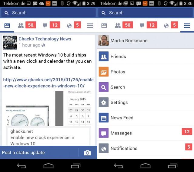 فيس بوك لايت للهاتف