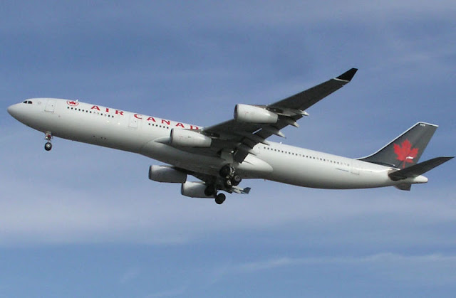 Gambar Pesawat Airbus A340 02