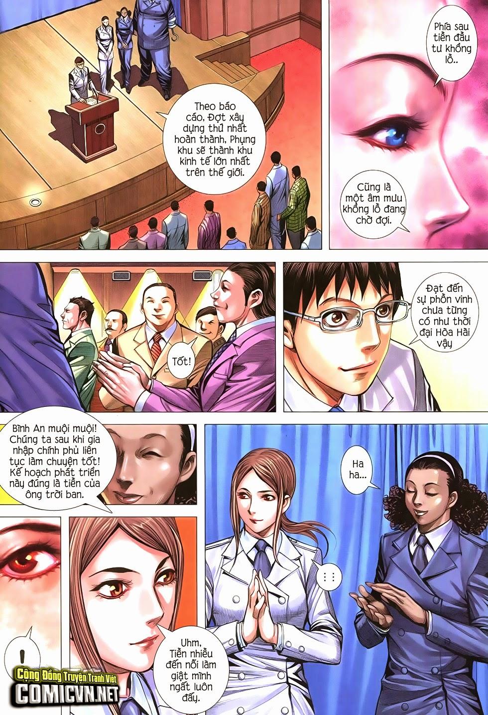 Đại Quân Phiệt chap 21 trang 28
