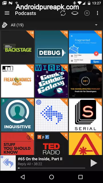 Podcast Radio Addict Donate Apk