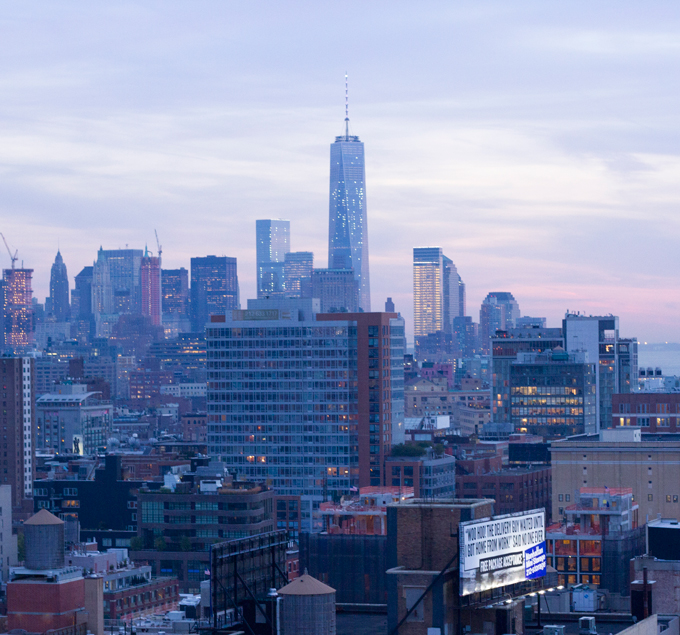 New York City, View from the High Line