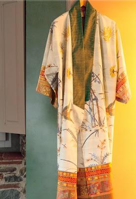 Kimono Fong Bassetti Granfoulard