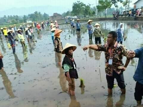 Viral Foto Tolak Pinggang Pengarah Gaya Petani saat Kunjungan Jokowi, Ini Komentar Zeng Wei Jian