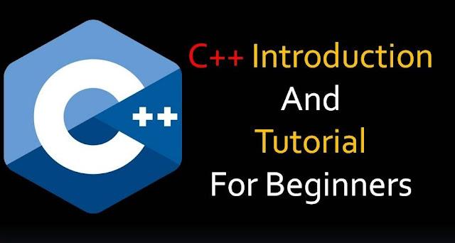 C++ introduction