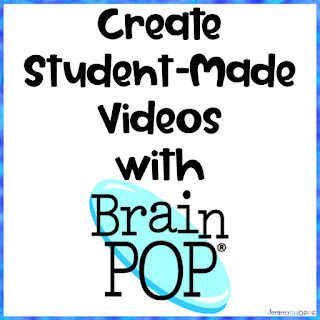 Use Brainpop to create movies to help students see what they learned in science class