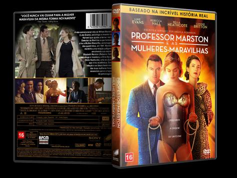 Capa DVD Professor Marston e as Mulheres-Maravilhas [Custom]