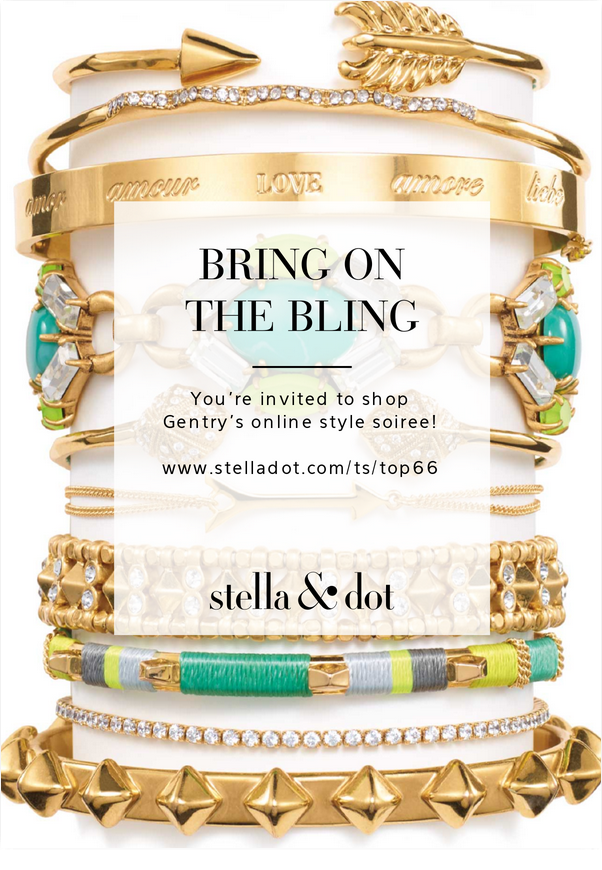 You 39 re invited stella and dot trunk show girl meets bow for Stella and dot invitation templates