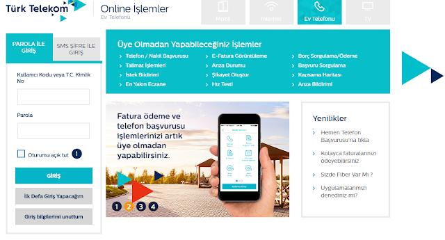 online-islemler-turk-telekom