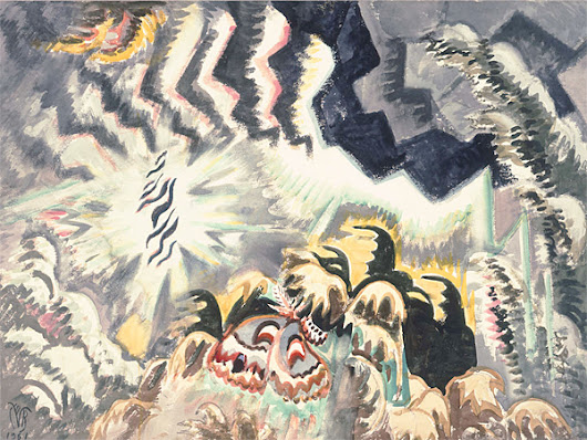 (what is this?): Charles Burchfield and Bruno Schulz