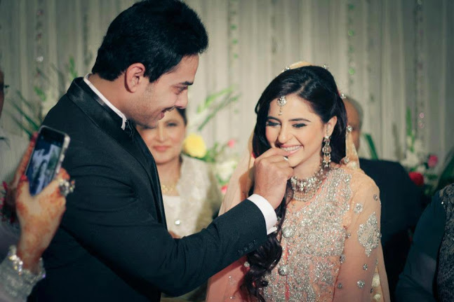Kanwar Arsalan & Fatima Effendi Wedding Pictures ~ Hindi ...