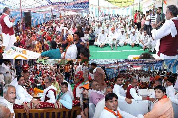 mantri-krishan-pal-gurjar-chunav-prachar-in-hathin-palwal-faridabad