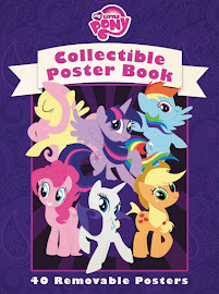 My Little Pony Collectible Poster Book Books