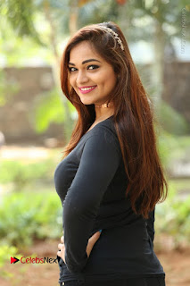 Actress Aswini Latest Stills in Black Denim Jeans  0123.JPG