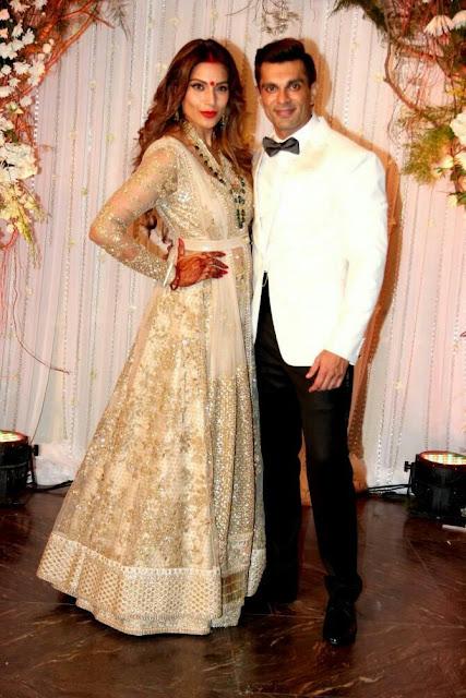 indo western reception dress for indian bride