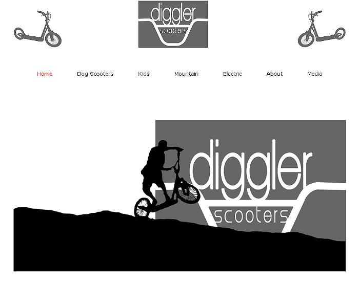 nouveau site internet Diggler