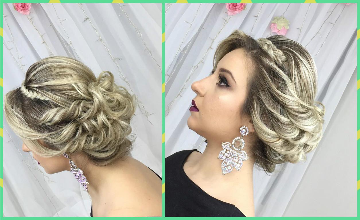 peinado recogido elegante para fiesta belleza y peinados