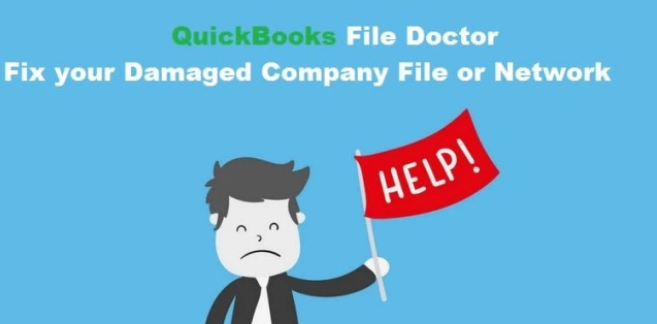 find quickbooks file doctor setup installation and use