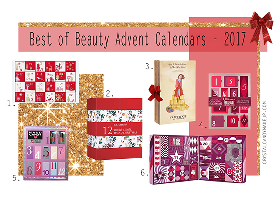 Best of Beauty Advent Calendars Holiday 2017 Canada