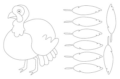 Relentlessly Fun Deceptively Educational Thankful Turkey Art