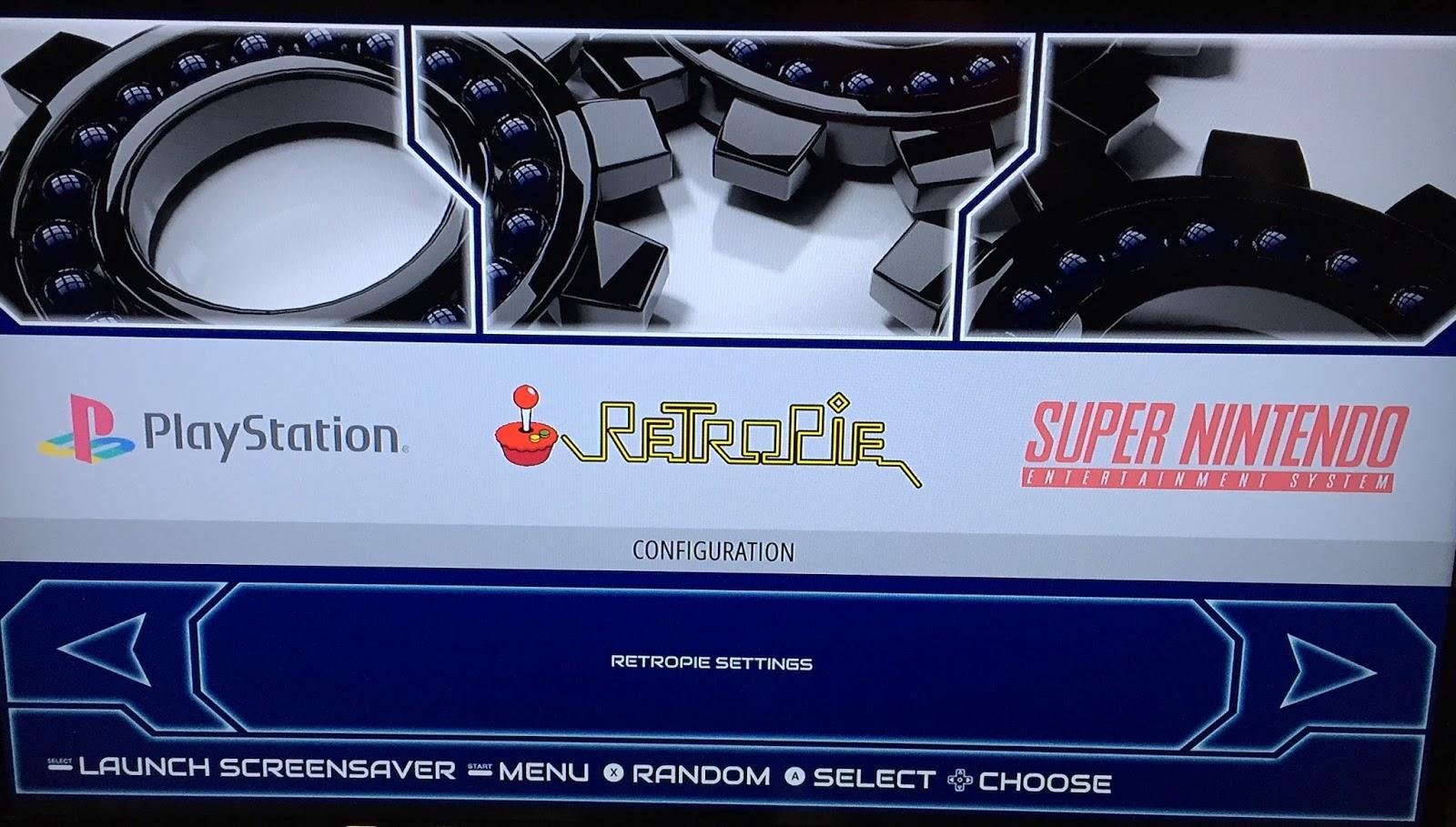Retro Gamer Randomness: My Adventure with RetroPie
