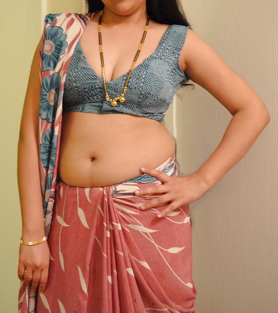 Telugu Dengudu Kathalu Mangala Aunty Boobs Show In Saree-7937