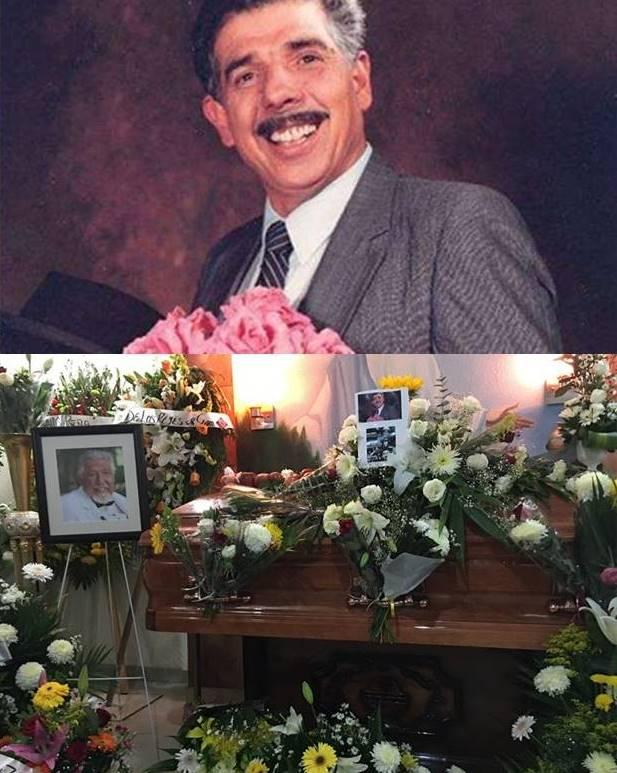 Flores, maçãs foram colocadas no caixão do ator Rubén Aguirre: Professor Girafales