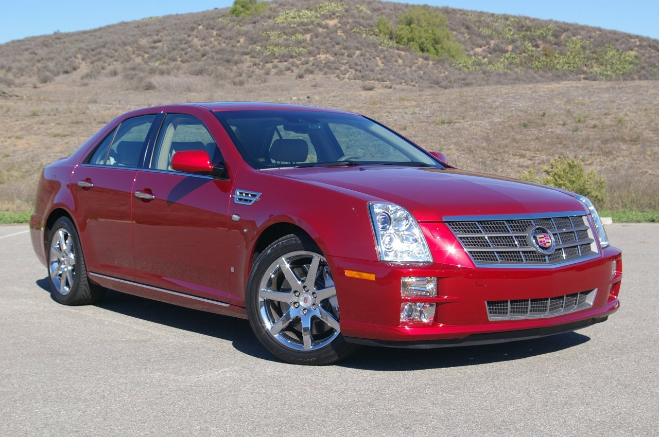 cadillac sts review the world of cars. Black Bedroom Furniture Sets. Home Design Ideas