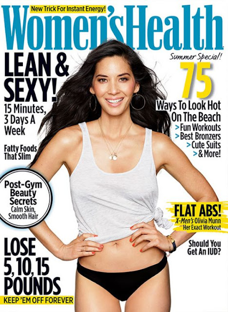 Actress, Model, @ Olivia Munn - Women's Health Magazine, June 2016