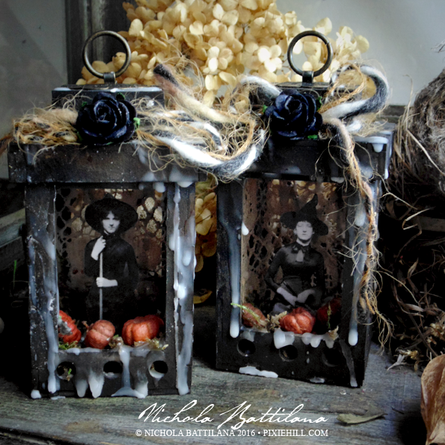 Drippy Witch Lanterns - Nichola Battilana