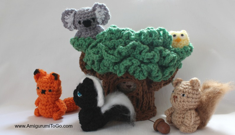 Woodland Crochet Round-Up - Free Crochet Patterns | Crochet ... | 458x794