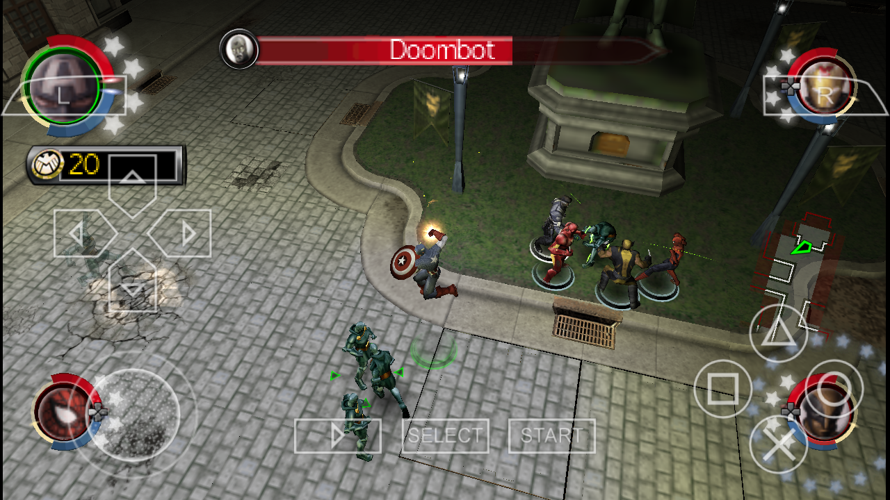 Marvel Ultimate Alliance 2 Psp Ppsspp Iso Cso Android Free Download