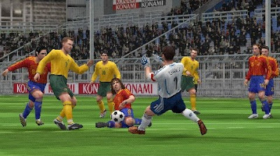 Download Winning Eleven 10 Ubiquitous Evolution PSP Iso Highly Compressed