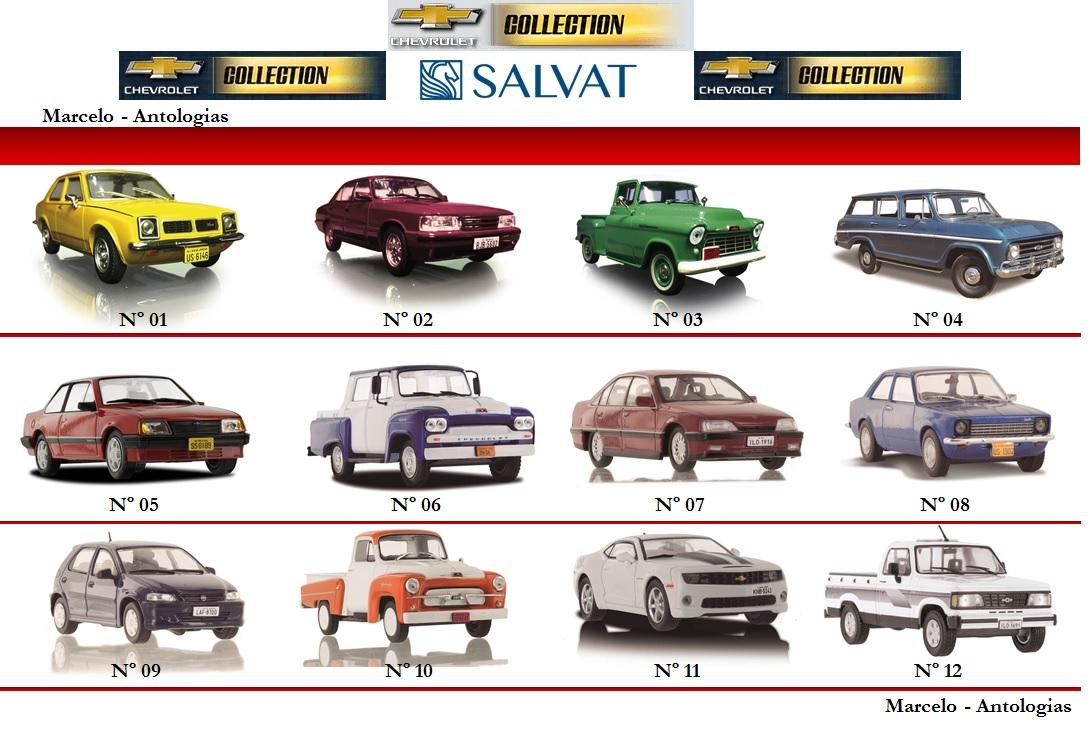 Chevrolet da salvat lista de miniaturas atualizado setembro 2016