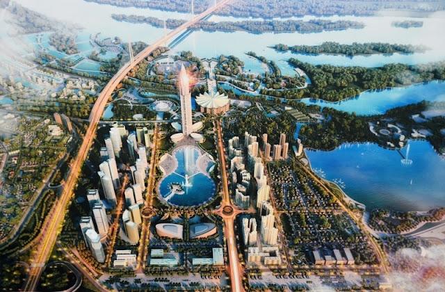 Ông lớn Nhật Bản Khởi công xây dựng đô thị thông minh Nhật Tân - Nội Bài