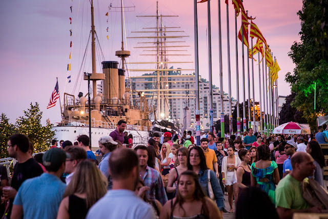 Waterfront events Philadelphia