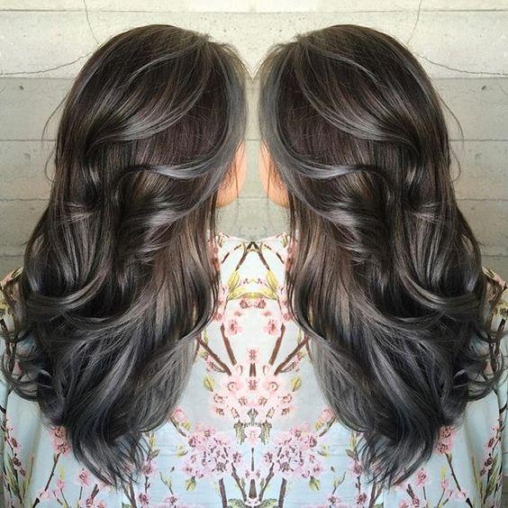 Amazing GreySilver Highlights  The HairCut Web
