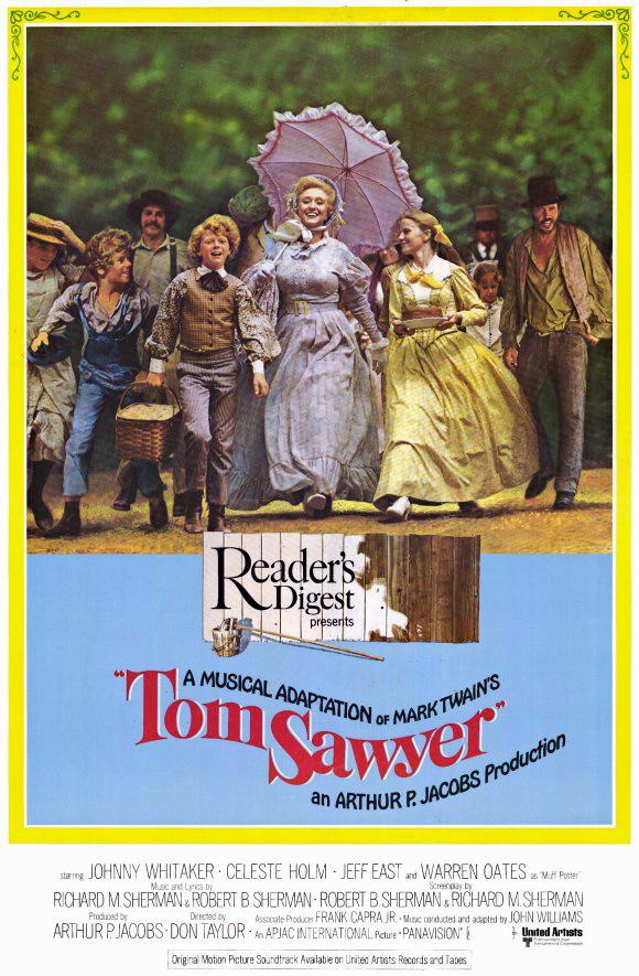 every 70s movie tom sawyer 1973 huckleberry finn 1974. Black Bedroom Furniture Sets. Home Design Ideas